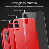 Luxury Tempered Glass Case for iPhone