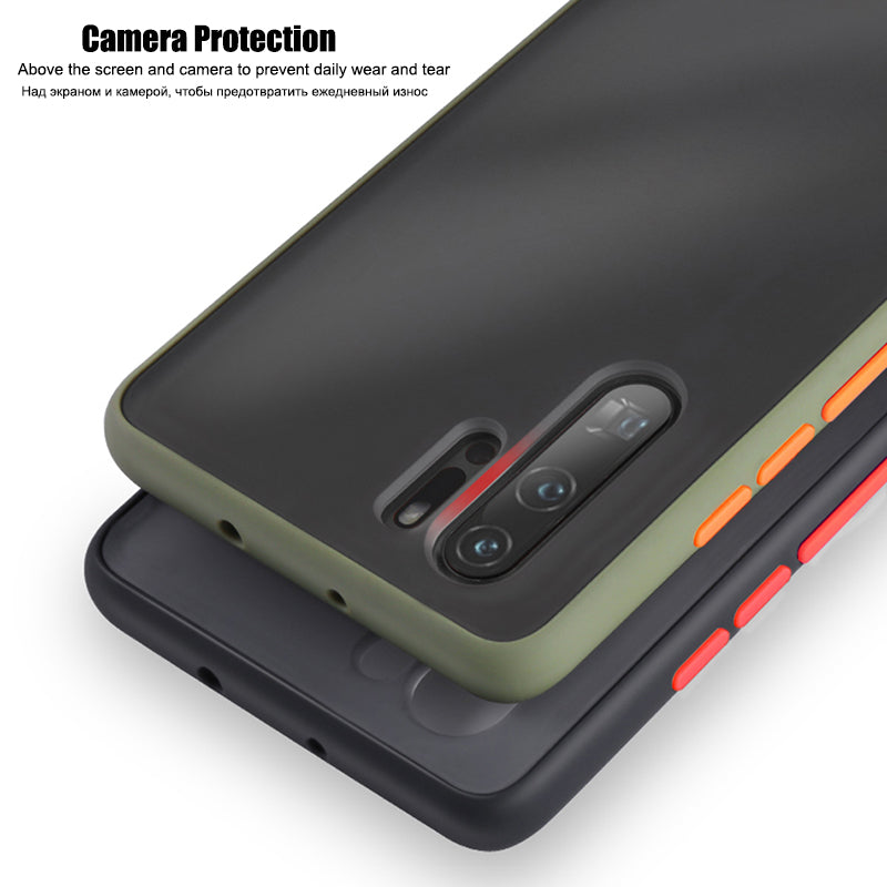 Luxury Silicone Translucent Case For Huawei