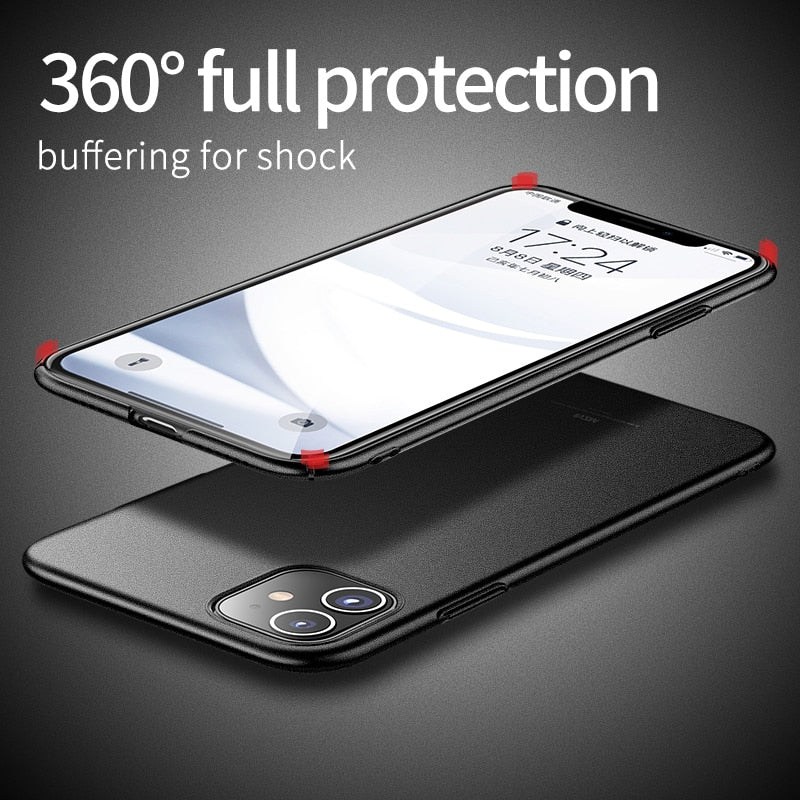 Thin  Protect Pc Phone  Cover  for IPhone