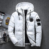 Fashion Hooded Casual Warm Men's Jacket