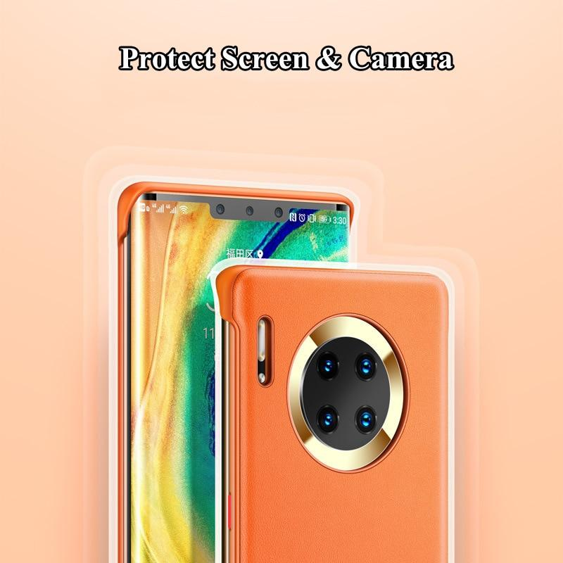 PU Leather Matter Shockproof Case for Huawei