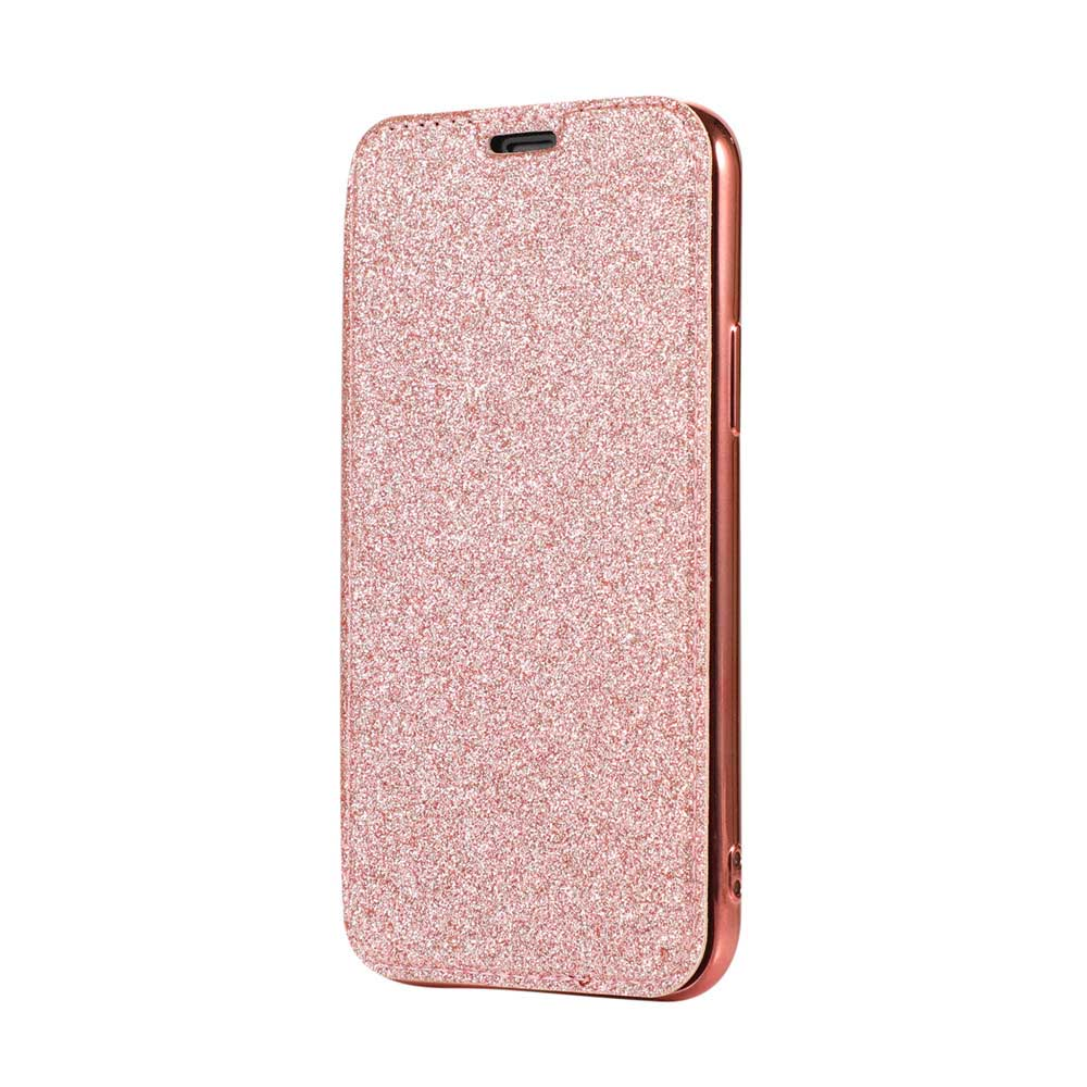 PU Leather Transparent Back Cover Case For iPhone 11