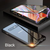 360 Double Sided Glass Magnetic Case For Samsung