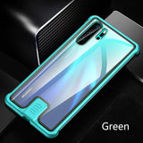 Tempered Glass Metal Bumpe Case for HUAWEI