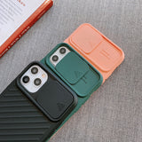 Soft Matte Camera Protection Case For iPhone