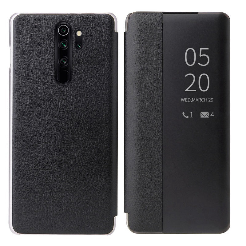 PU Leather+Window View Smart Flip Case For Xiaomi