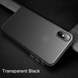 Thin Slim Frosted Cover For iPhone  Case For iPhone11