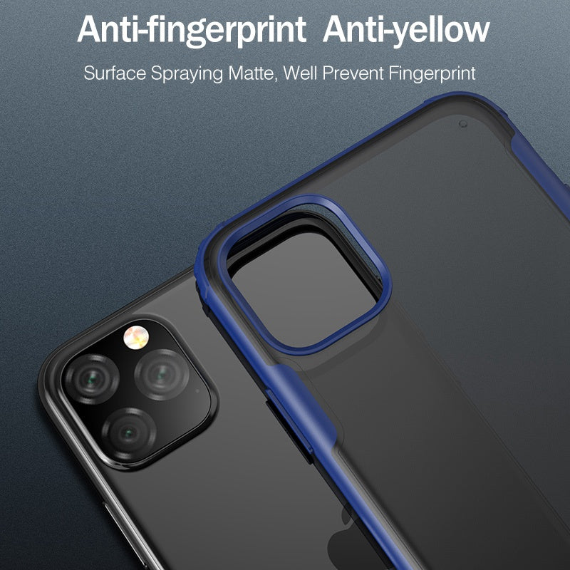Ultra-thin Matte Shockproof Case For iPhone