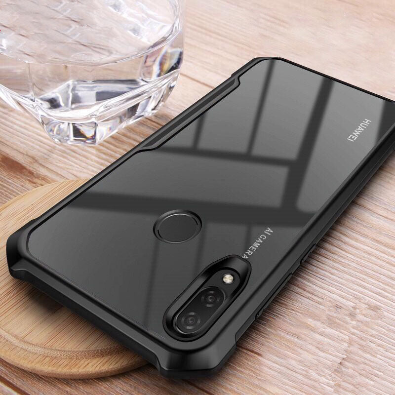 Shockproof Clear Soft Silicone Armor Case For Huawei