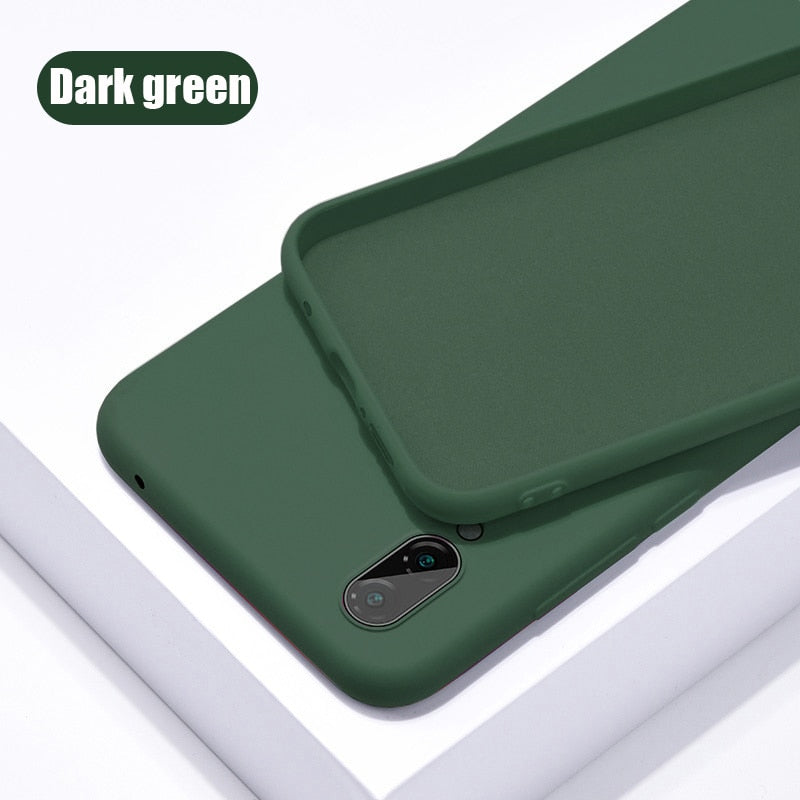 Original Liquid Silicone Thin Soft Case For Samsung