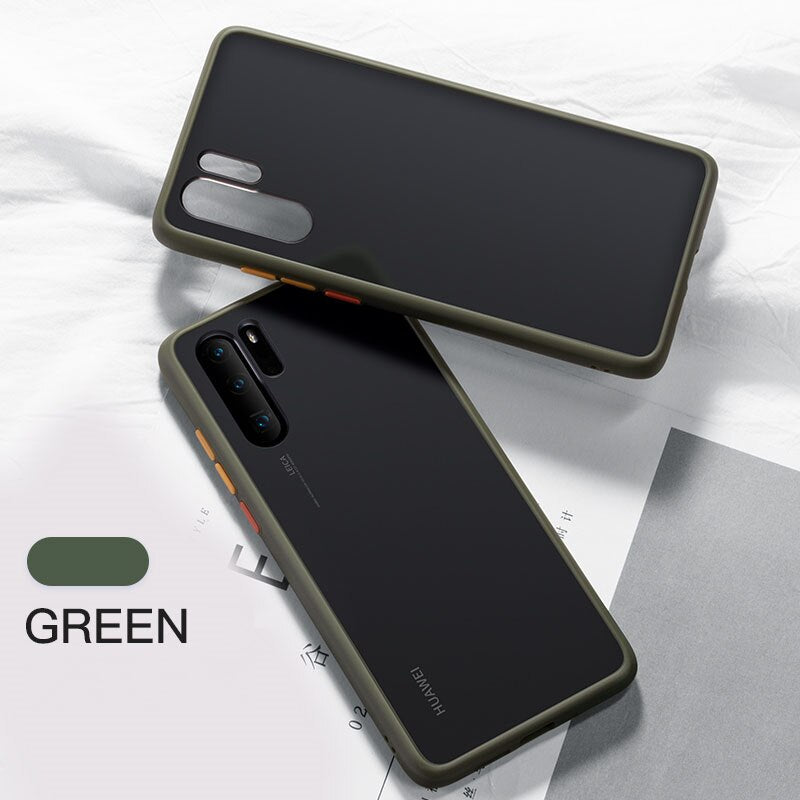 Transparent silicone Shockproof Bumper Case For Samsung