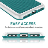 Hybrid Anti-slip Shockproof Phone Case for iPhone
