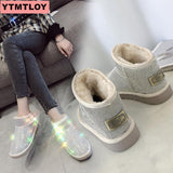 Women's Warm Snow Ankle Boots