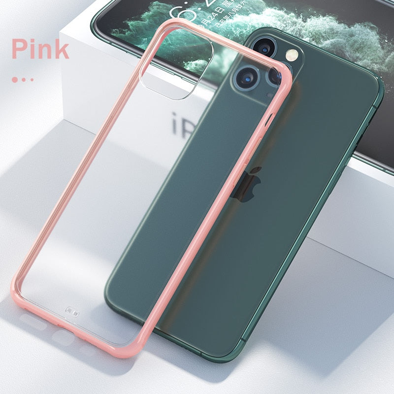 Transparent Shockpoof Case For iPhone