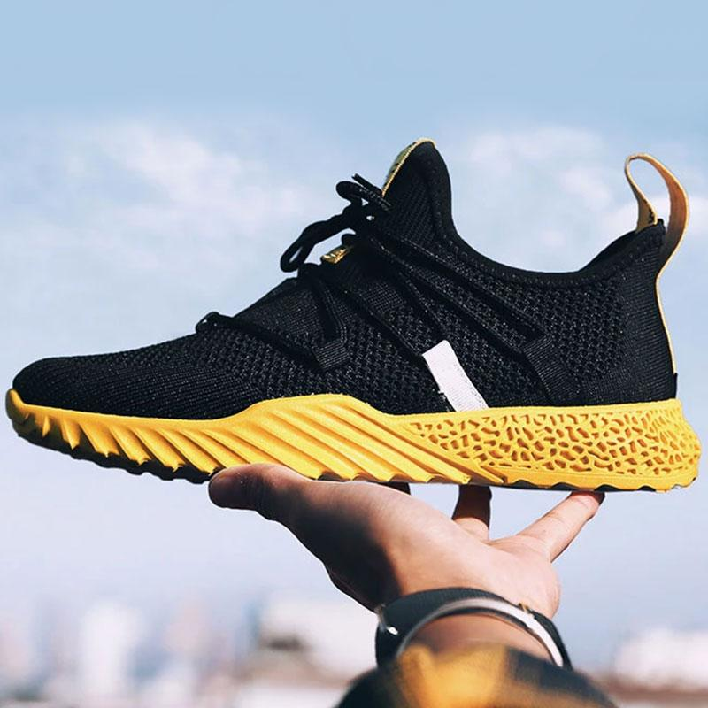 Breathable Autumn Summer Mesh Lightweight Men's Casual Shoes