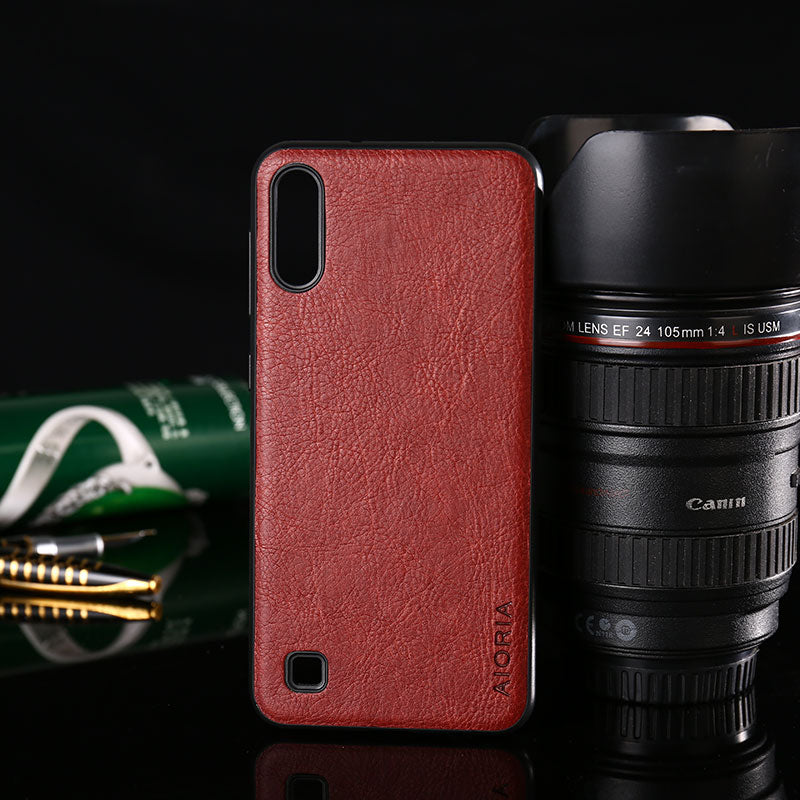 Luxury Vintage Leather Case for Samsung