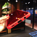 Diamond 3d Mirror Back Cover Case for iPhone
