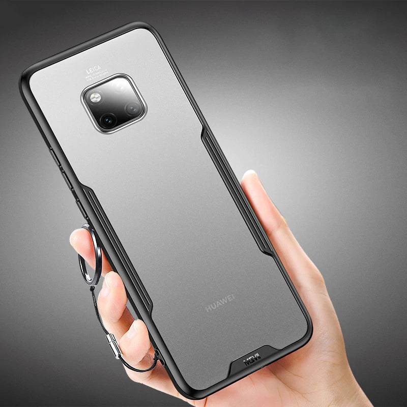 Luxury Transparent Silicone Case For Huawei