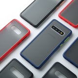 New Luxury Matte Shockproof Case For Samsung