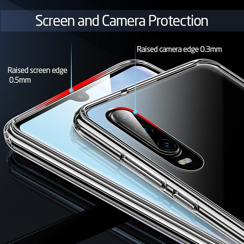 Crystal Tempered Glass Case for Huawei