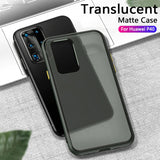 Silicone Shockproof Matte Case For Huawei