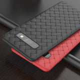 Weaving Silicone Soft Case For Samsung