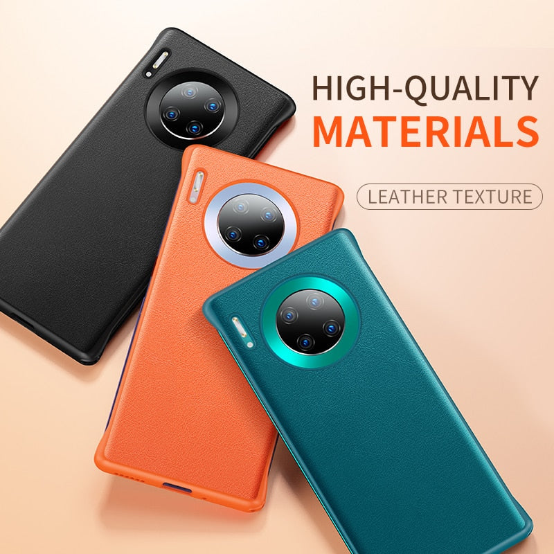 Luxury Genuine Leather Case For Huawei