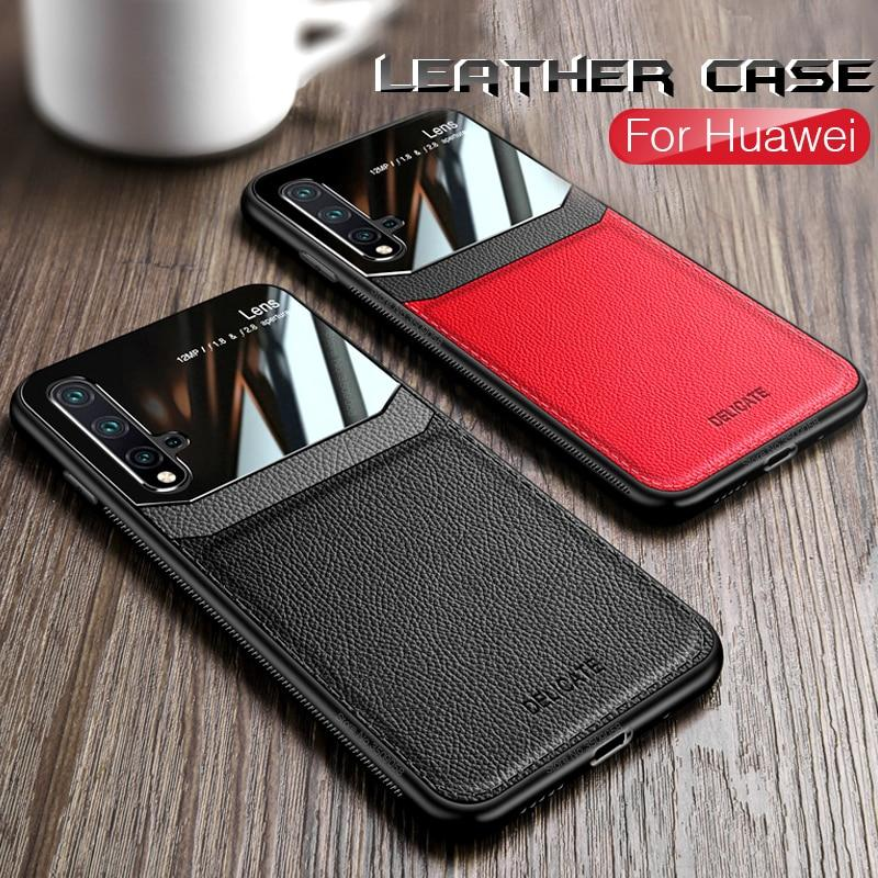 leather mirror cases for huawei