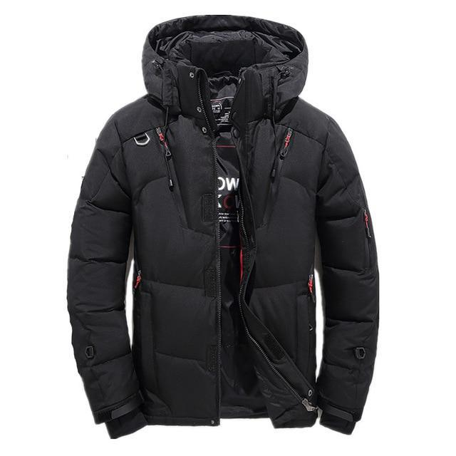 Fashion White Duck Thick Down Men Jackets