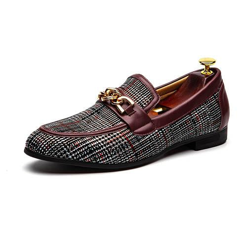 Fashion Wedding Party Slip On Men's Casual Shoes