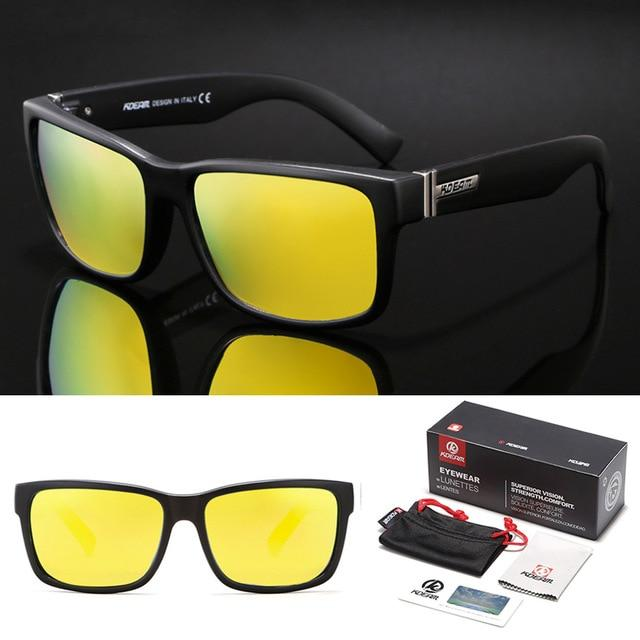 Outdoor Sport Men Polarized Sunglasses With Box