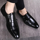 Fashion Big size Pointed-toe Non-slip Formal Men's Dress Shoes