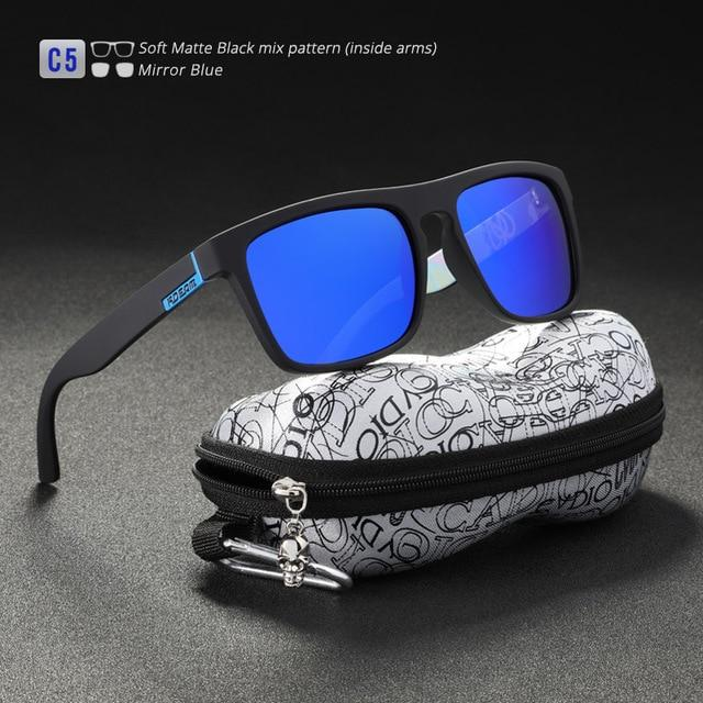 Fashion Guy's Classic All-Fit Mirror Sunglasses With Box