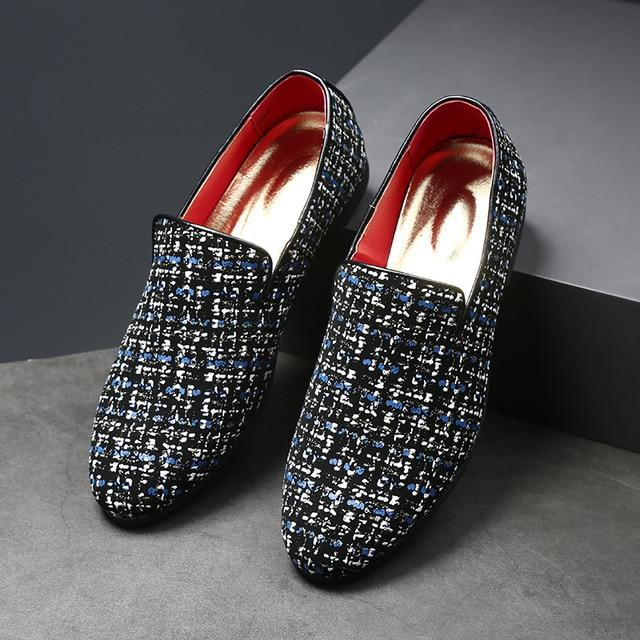 Luxury Rhinestone Formal Wedding Men's Dress Shoes
