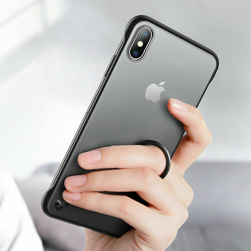 Transparent Ultra Thin Frameless Case For iPhone