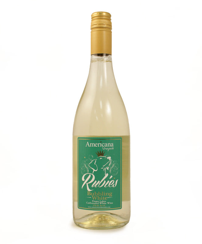 Americana, Rubies Bubbling White, Cayuga Lake, 750ml