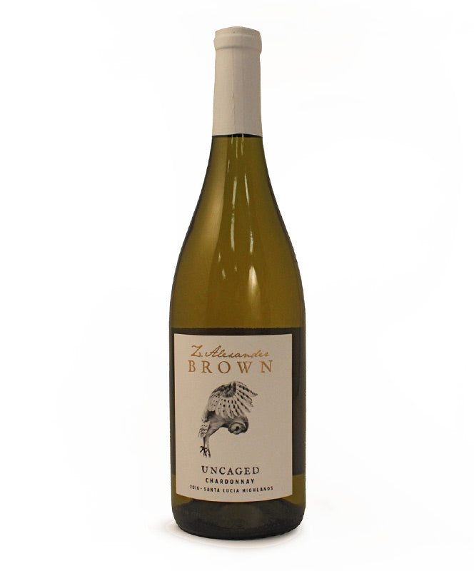 Z. Alexander Brown, Uncaged Chardonnay, California, 750ml
