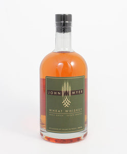 Myer Farm, Wheat Whiskey, Cayuga Lake, New York, 750ml.