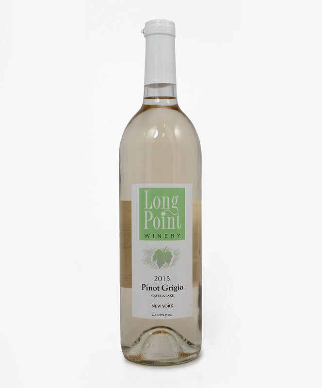 Long Point Winery, Pinot Grigio, Cayuga Lake, 750ml