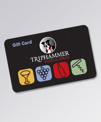 Triphammer Wines & Spirits Gift Card (In-Store Only)