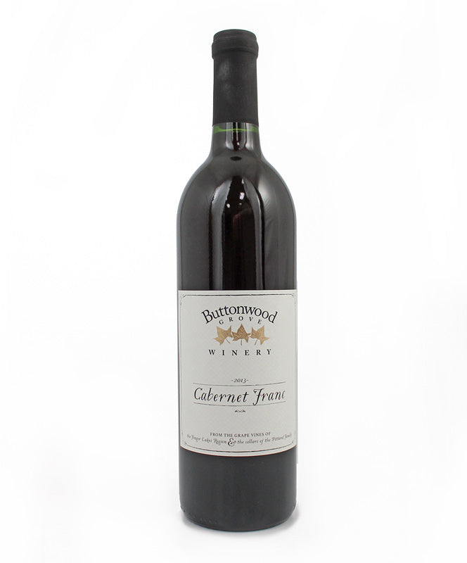 Buttonwood Grove Winery, Cabernet Franc, Cayuga Lake, 750ml