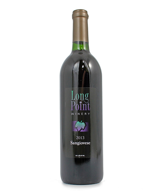 Long Point Winery, Sangiovese, Cayuga Lake, 750ml