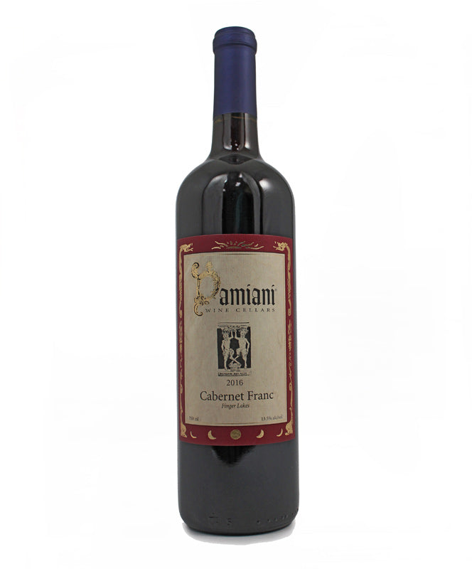 Damiani Wine Cellars, Cabernet Franc, Seneca Lake, 750ml