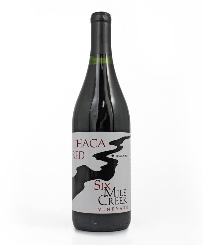 Six Mile Creek Winery, Ithaca Red, Cayuga Lake, 750ml