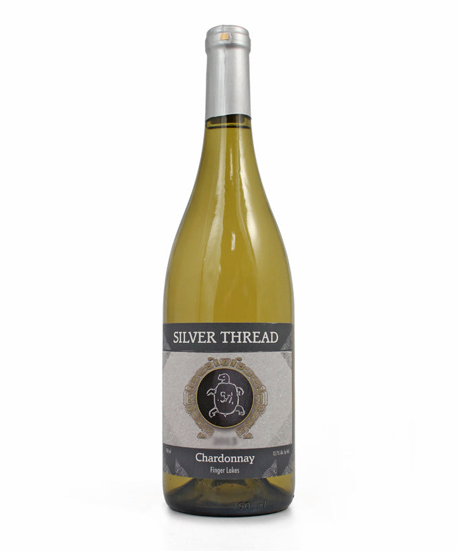 Silver Thread, Chardonnay, Seneca Lake, 750ml
