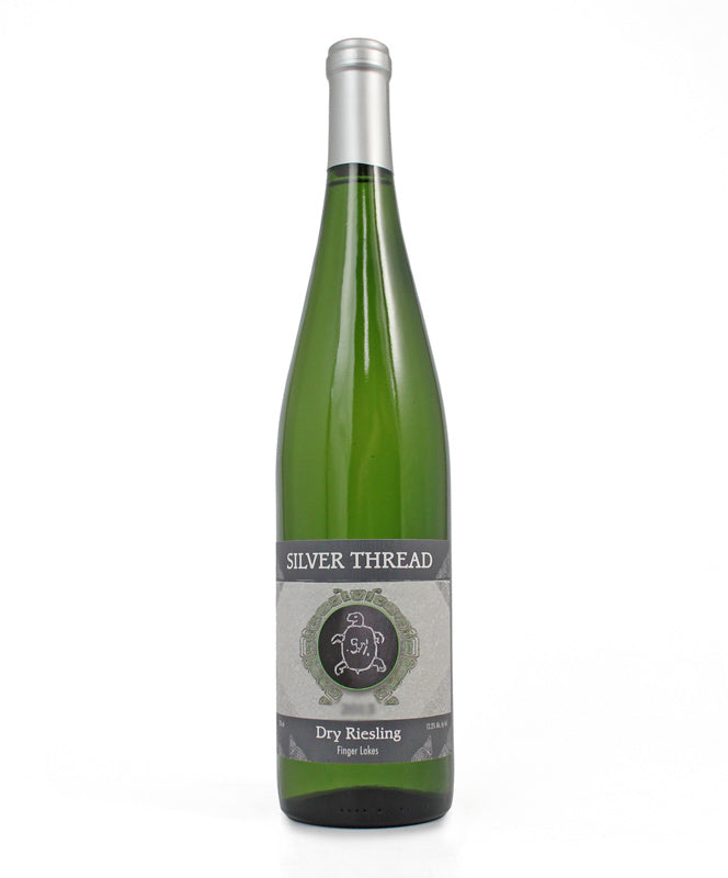 Silver Thread, Dry Riesling, Seneca Lake, 750ml
