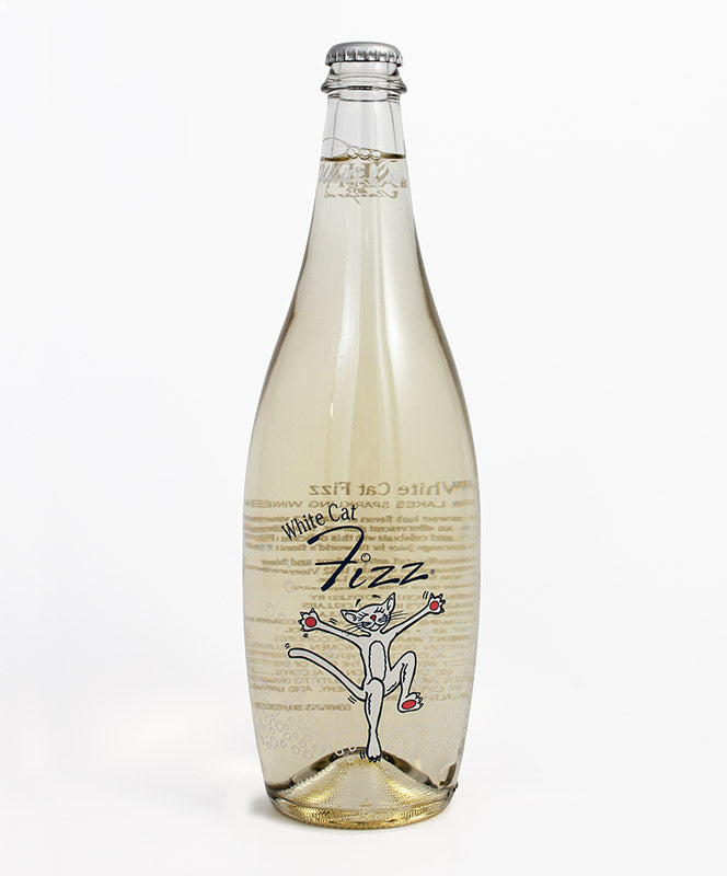 Hazlitt 1852 Vineyards, White Cat Fizz, Seneca Lake, 750ml