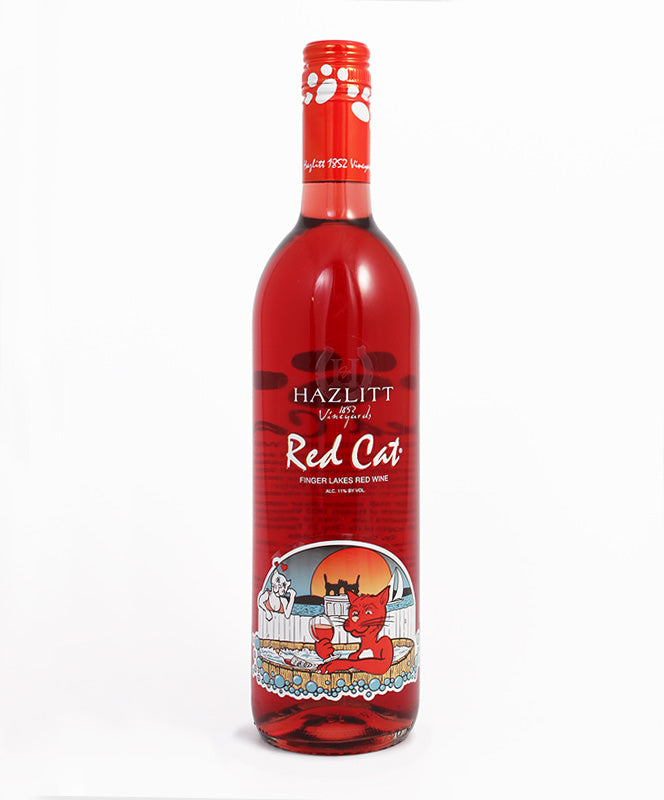 Hazlitt 1852 Vineyards, Red Cat, Seneca Lake, 750ml