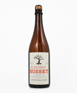 South Hill Cider, Bluegrass Russet Cider, Cayuga Lake, 750ml