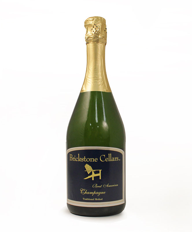 Brickstone Cellars, Brut, Finger Lakes, 750ml